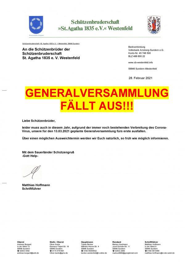 2021_Ausfall_Generalversammlung